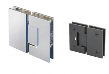 180 Degree Glass-to-Glass Mount Hinges