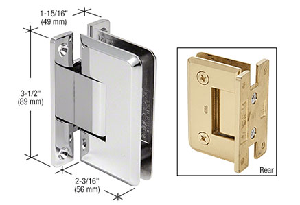 Pinnacle Series Wall Mount Hinges