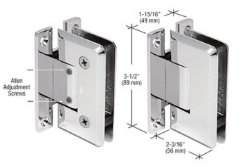 CRL Pinnacle Adjustable Hinges