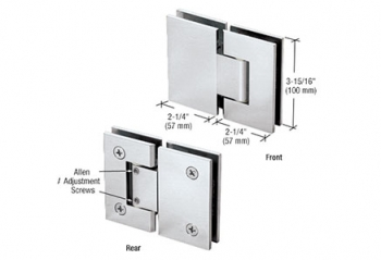 Vienna Series Glass-to-Glass Mount Hinges
