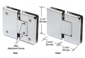 Pinnacle Series Glass-to-Glass Mount Hinges