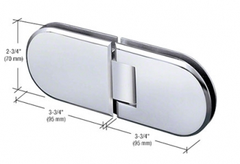 Berlin Series Glass-to-Glass Mount Hinges