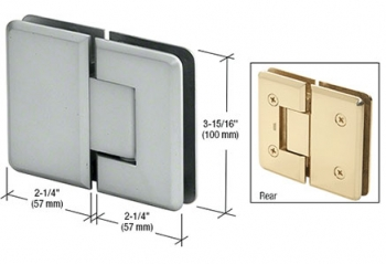 Cologne Series Glass-to-Glass Mount Hinges