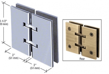 Concord Series Glass-to-Glass Mount Hinges