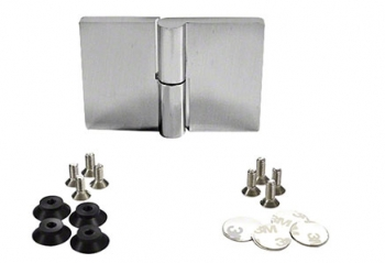 Riviera Glass-to-Glass Mount Hinges