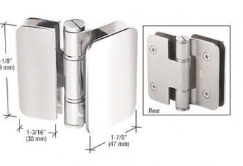 Zurich Series Glass-to-Glass Mount Hinges