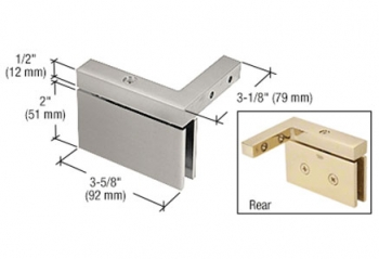 CRL Cardiff Series Wall Mount Offset Hinges