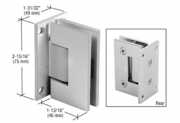 Wall Mount Full Back Plate Hinges