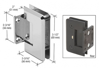 Pinnacle 074 Short Back Plate Hinge