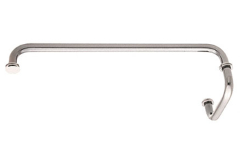 CRL SD Series Brass Towel Bar/Pull Handle Combination