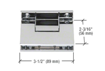 CRL Ceiling Mount Transom Clamps