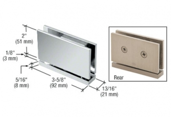 CRL Cardiff Series Top or Bottom Mount Hinges