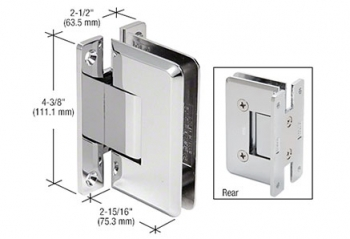 CRL Plymouth Series Wall Mount Hinges