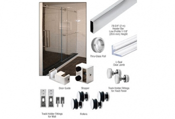 CRL Shower Door Sliding Kits